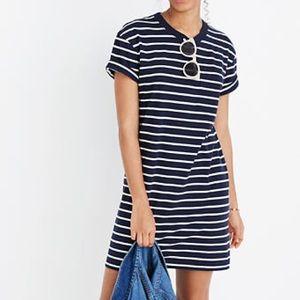 Madewell Dresses - Madewell Striped Pocket Tee Dress